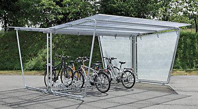 Fahrradparksysteme mit Überdachung bei Certeo