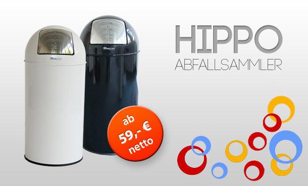 HIPPO Push-Abfallsammler