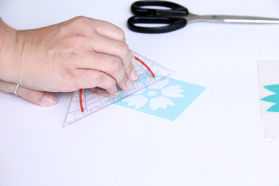 Schritt 2: Glatt streichen