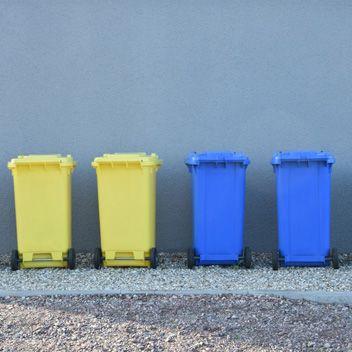 Müllcontainer Bild