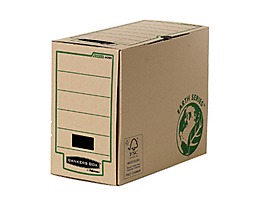 Bankers Box Archivbox R-Kive Earth Series 4470301 naturbraun