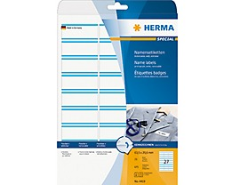 HERMA Namensetikett 63,5x29,6mm 675 St./Pack.