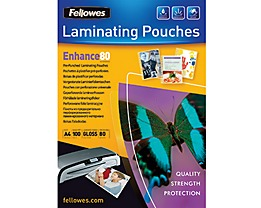 Fellowes Laminierfolie Enhance 80 5452502 DIN A4 tr 100 St./Pack.