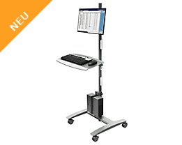 Dataflex Dateneingabe-Trolley VIEWMATE COMBO