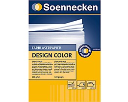 Soennecken Farblaserpapier Design Color  DIN A4 ws