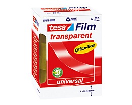 tesa Klebefilm tesafilm OfficeBox 57379-00002 transparent 6 St./Pack