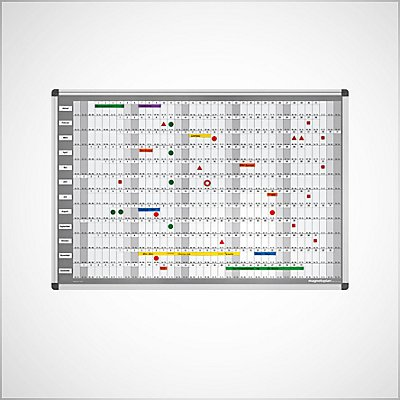 Plannings et tableaux quadrillés Image
