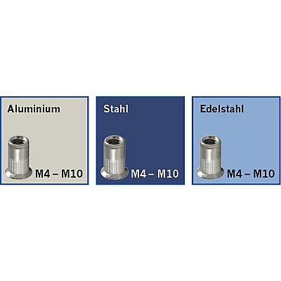 PROJAHN | Profi Blindnietmuttern-Hebelzange M4, M5, M6, M8, M10