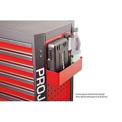 PROJAHN | Zubehör Werkstattwagen GALAXY Multifunktionsablage tief Rot