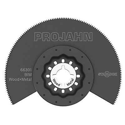 PROJAHN | Segmentsägeblatt für Holz &#38, Metal, BIM, Starlock, 85mm, 1 VE