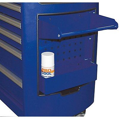 PROJAHN | Dosen- und Kannen-Halter zu Superior Werkstattwagen 6911 Masse: 340 x 90 x 110mm