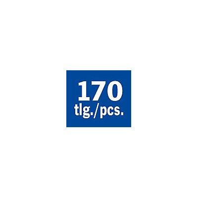 PROJAHN | Bohrer-Magazin Kunststoff HSS-R 170tlg 1-10/0,5 mm ECO