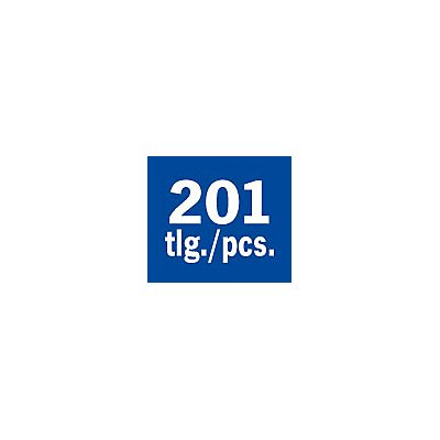 PROJAHN | Bestückung für 4 Schubladen 210tlg