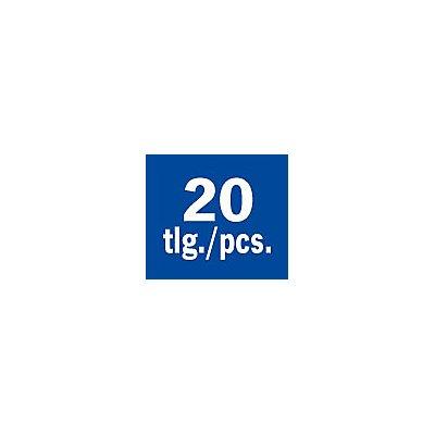 PROJAHN | GearTech Schlüssel Satz Rolltasche umschaltbar 20 tlg