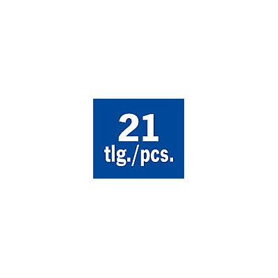 PROJAHN | Bohrerkass.HSS-G DIN1897 21tlg 2-10,2/0,5 mm