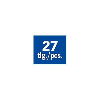 PROJAHN | Schneid- und Messwerkzeug Einlage 27tlg