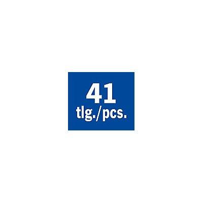 PROJAHN | Bohrerkassette HSS-G 41tlg 6-10/0,1 mm TURBO