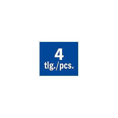 PROJAHN | Extreme Fliesenbohrerset 4-tlg., Ø 4, 5, 6, 8 mm