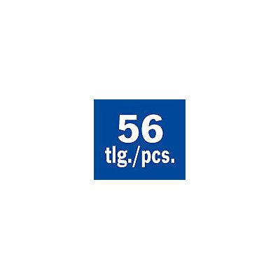 "PROJAHN   1/4"" Bit Box mit markierten Bits 56tlg"