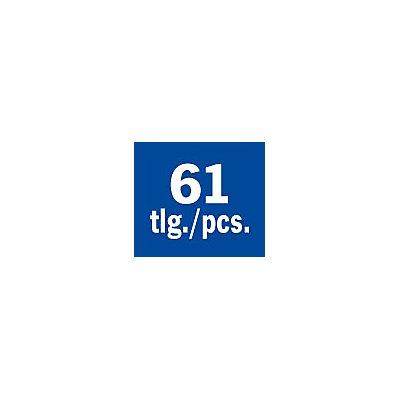 PROJAHN   Profi Blindnietzangen-Set, 61-tlg. 1x Blindnietzange 395060 15x Blindniete Alumi