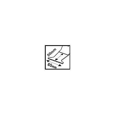 PROJAHN | Tauchsägeblatt für Holz &#38, Metal, BIM , Starlock Plus , 65mm x 50mm, 1 VE