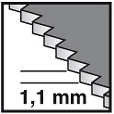 PROJAHN | Tauchsägeblatt für Metall, Carbide Technology,Starlock, 32mm x 40mm, 5 VE