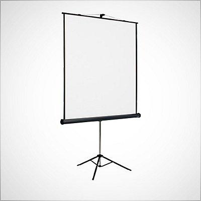 Projektionswände und Projektorwagen Bild