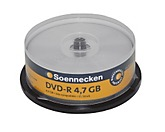 Soennecken DVD-R 70086 16x 4,7GB 120Min. Spindel 25 St./Pack.