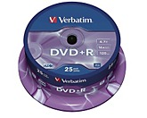Verbatim DVD+R  16x 4,7GB  Spindel  St./Pack.