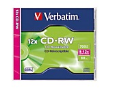 Verbatim CD-RW 43148 8-12x 700MB 80Min. Jewelcase 10 St./Pack.