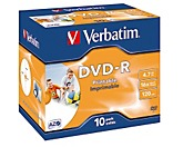 Verbatim DVD-R 43521 16x 4,7GB 120Min. Jewelcase 10 St./Pack