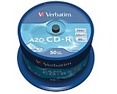 Verbatim CD-R 43343 52x 700MB 80Min. Spindel 50 St./Pack.