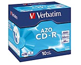 Verbatim CD-R 43327 52x 700MB 80Min. Jewelcase 10 St./Pack.