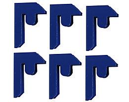 Verbindungsselemente für Schwerlastregal | Blau | newpo
